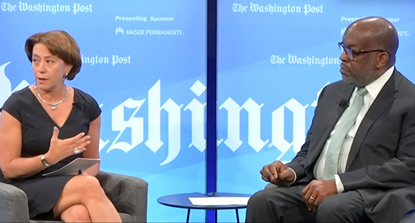 Ceci Connolly and Bernard J. Tyson discuss social determinants at Washington Post Live.