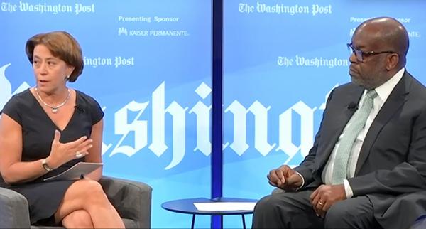 Ceci Connolly and Bernard J. Tyson discuss social determinants at Washington Post Live.