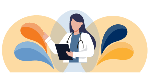 Abstract graphic representing primary care